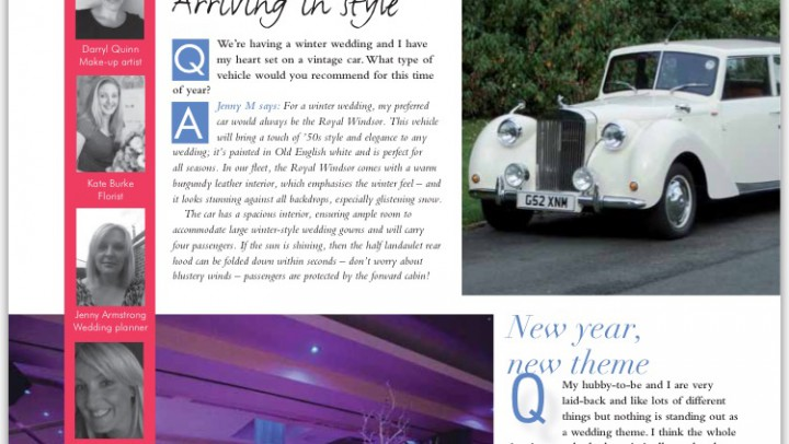 Published in 'Your Merseyside Wedding Magazine' September 2015